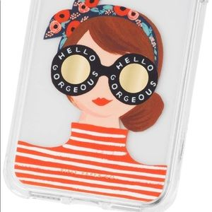 ❤️... Anthropologie Rifle Paper Co. Phone Case